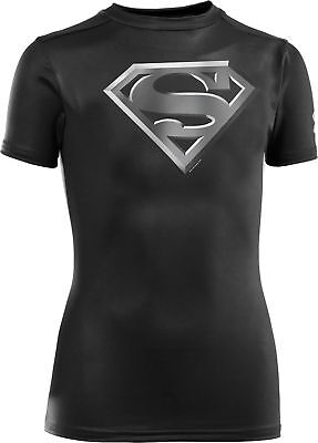 Under Armour Man Of Steel Compression Junior Top - Black
