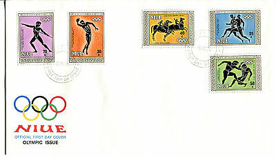 Niue 1984 Olympic Games FDC