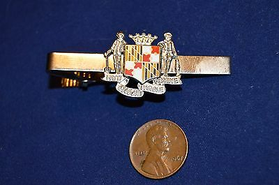 VINTAGE  MARYLAND  STATE SEAL  TIE TAC BAR Silver WHY PAY MORE?
