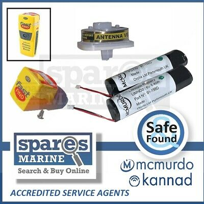 McMurdo Fastfind 210 GPS PLB Battery Replacement Service (91-050-420A)