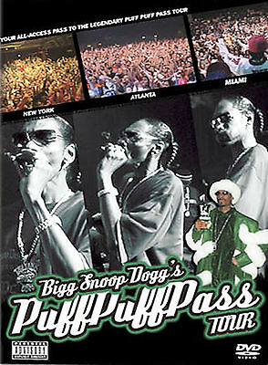 Snoop Dog PUFF PUFF PASS TOUR rare Rap dvd WARREN G , Daz , EASTSIDER , Bad Azz