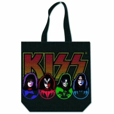 Official KISS - Four Faces - Eco Shopping Bag