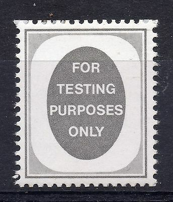 """GB = c.1965 """"Poached Egg"""" Testing Purposes `stamp`. MNH. (Ex - Sideways Coil)"""