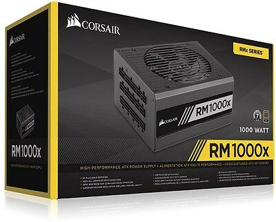 Corsair RM1000x 1000W 80PLUS Gold Modular Power Supply[CP-9020094-AU]