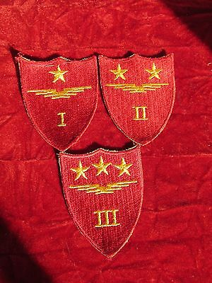 WW2 USMC US MARINE CORPS Aircraft Fuselage 1st 2nd 3rd wing patch collection