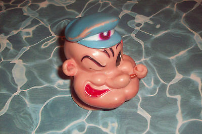 Vintage 1957 Popeye Head King Features Dated 1/31/57 Numbered 387