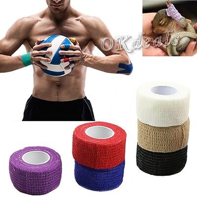 New 1 Roll Kinesiology Muscle Care Fitness Athletic Safety Sport Health Tape