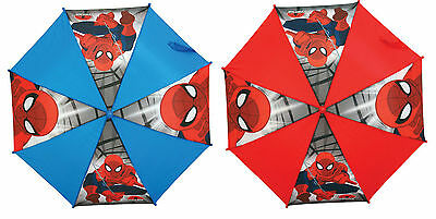 MARVEL SPIDER MAN UMBRELLA (BLUE OR RED) Branded Umbrella : WH2 : 781 : NEW