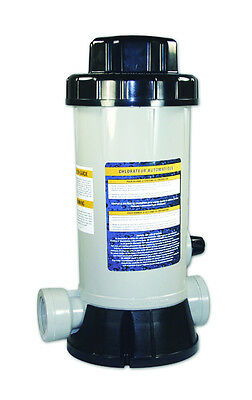 HydroTools 87502 In-Line Above Ground Swimming Pool Automatic Chlorine Feeder