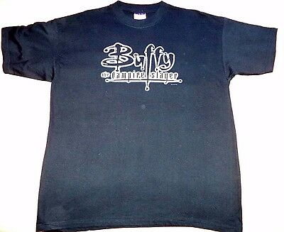 Buffy The Vampire Slayer Original T-Shirt from 1999 ( Size L ) - VERY RARE!