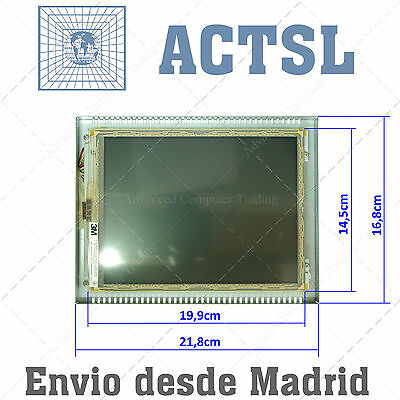 """TouchScreen 8"""" LCD Canvys CL0883BR DCT08D00893BE LM02 VGA DVI conector"""
