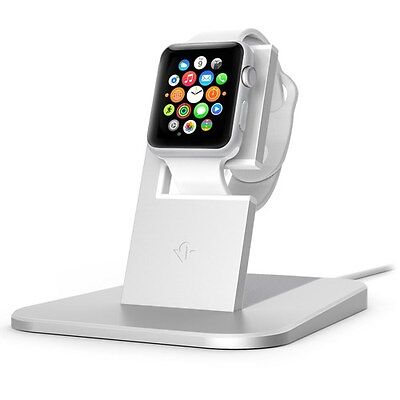 Twelve South HiRise stand for Apple Watch silver | Metal charging dock for Ap...