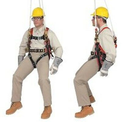 Klein 87893 Fall-Arrest/Positioning/Suspension Harness for Tree Trimming Work