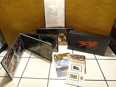 300 [WS] [Limited Collector's Edition] [3 Discs] [In (2010, DVD New) WS/Lmtd ED.