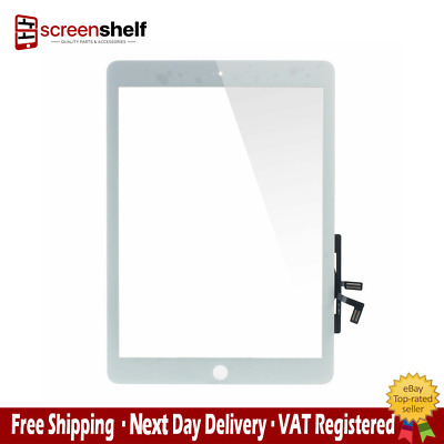 Replacement Digitizer iPad Air White with home button and adhesive