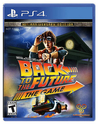Back to the Future 30th Anniversary - PS4 Game - Brand New Sealed