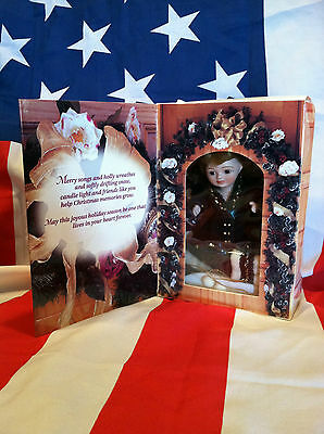 Collectible Vintage1996 Greeting Card Doll - Marie Osmond Porcelain Doll NIB