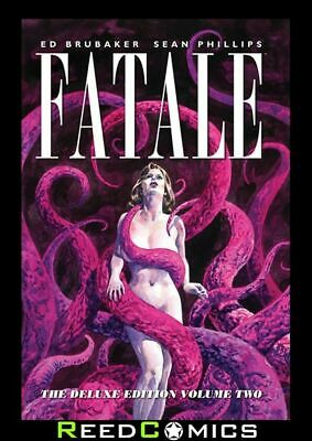 FATALE DELUXE EDITION VOLUME 2 HARDCOVER New Hardback Ed Brubaker Collect #11-24