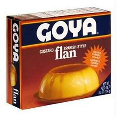 Goya B55877 Goya Flan With Caramel -36x5.5oz