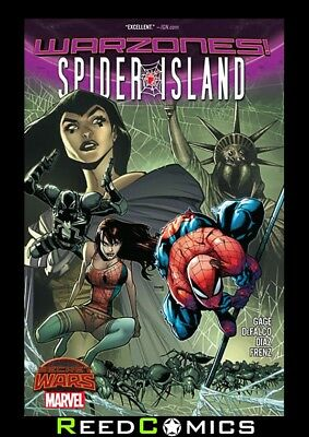 SPIDER-ISLAND WARZONES GRAPHIC NOVEL New Paperback Collects Mini-Series #1-5