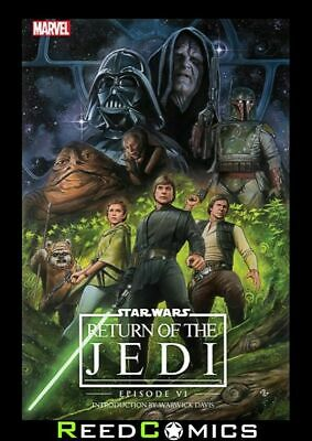 STAR WARS EPISODE VI RETURN OF THE JEDI HARDCOVER Hardback Collects Issues #1-4