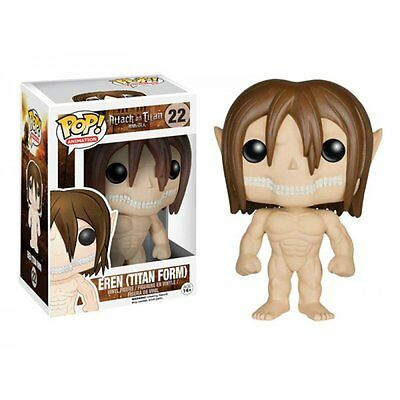 FunKo TOYS POP Anime Attack on Titan - Eren Titan Form 4in. Figure