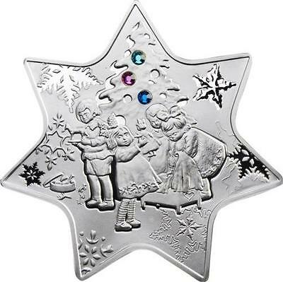 Niue 2010 1$ 28,28g  Silver Proof Coin Christmas Star