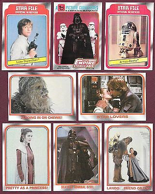 Star Wars Empire Strikes Back 1980 Topps $.99 EACH You Pick Complete Your Set