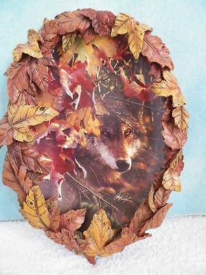 "Bradford Exchange Wolf Plate ""Glimpse of Gold"" 3rd issue Collin Bogle"