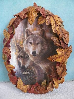 "Bradford Exchange Wolf Plate ""Through The Thicket"" 4th issue Collin Bogle"