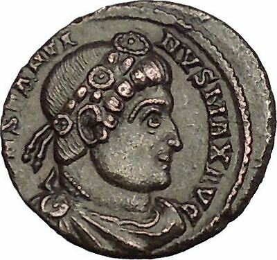 Constantine I The Great 330AD Ancient Roman Coin Glory of Arny Legions i53051