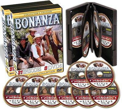 Bonanza Collector's Edition - 31 Episodes on 8 DVDs - NEW!