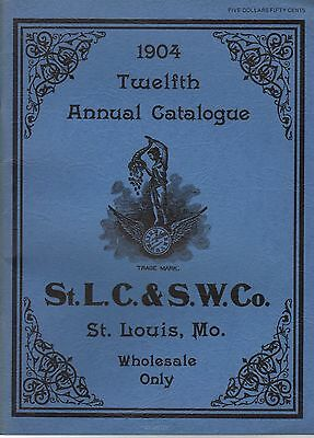 1904 St Louis Clock & Silverware Catalog Reprint - World's Fair
