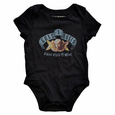 Official Guns N Roses - Sweet Child O' Mine - Babygrow Romper (Ages 0-18 Months)