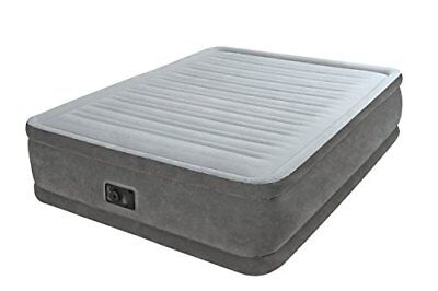 Intex - Airbed/Materasso gonfiabile Comfort Plush Elevated - Matrimoniale (B5K)