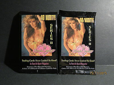 1994 Bench Warmer Series II Unopened Pack Lot 2 Packs