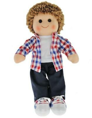 NEW Hopscotch Collectibles Childrens Boy Rag Doll - Jack 35cm