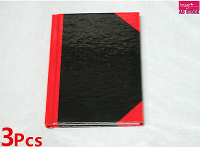3pcs Hard Cover Note Book A4 Size 80page Writing Book Notebook F430x3
