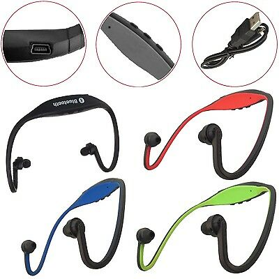 Universal Wireless Bluetooth Stereo Headset Gym Running High-Definition Earphone