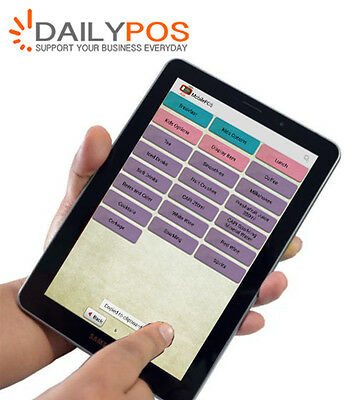 DailyPOS Tablet Mobile Order App  for  Restaurant Andriod iPad iPhone