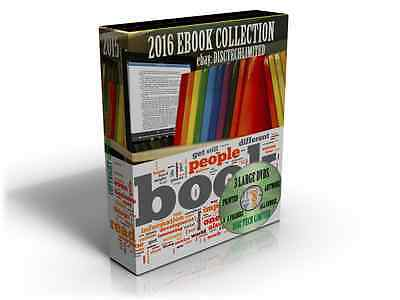 2015 -2016 Ebook Collection Over 25,000 Titles Mobi Format 3 DVDS - FREE POSTAGE