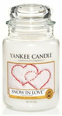 Yankee Candle Snow in Love large Jar 623 gr.