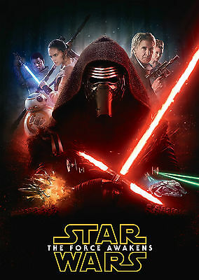 Star Wars: Episode 7 - The Force Awakens (2015) V12 - A1/A2 Poster **SEE OFFER**