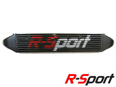 Fiesta ST180 Mk7.5 EcoBoost 1.6T R-Sport Intercooler Stage 2 Rectangle Black