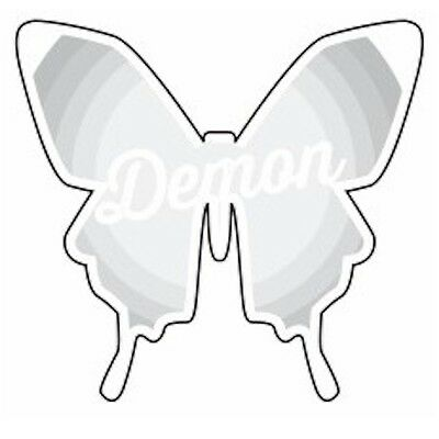 Demon Snowboarding 6012 Clear Butterfly Stomp Pad