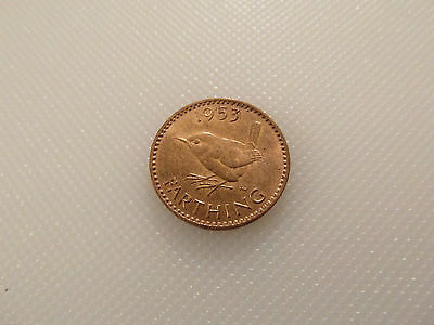 Nice Collectable 1953 Queen Elizabeth II - Farthing coin