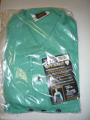 *NEW* Tillman 62212X Green Westex Cotton Cape Sleeve, 2X-Large