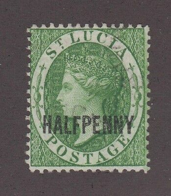 St. Lucia #19 Used Vf