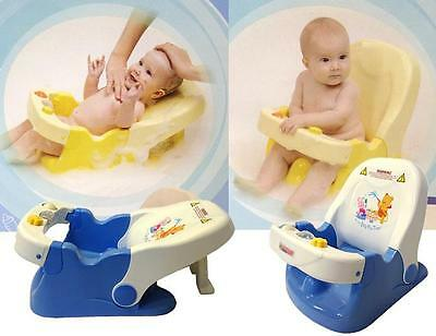 New Sturdy Support Baby Bath Chair Layback 2 Position Aid Chair Very Safe Gift