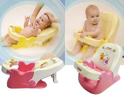 BR New Sturdy Aid Support Baby Bath Chair Seat Layback 2 Position Very Safe Gift